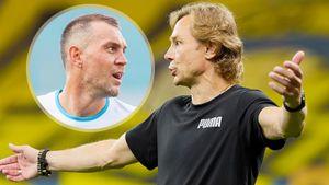 «При чем тут Дзюба?» Ответ Карпина на вопрос о нападающем «Зенита» и сборной России: видео