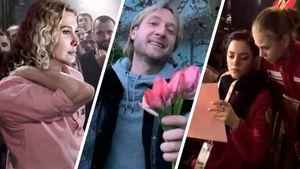 Цветы для Тутберидзе, программы под Билана, план побега отМедведевой. Лучшие мемы опереходе Трусовой кПлющенко