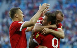 Сборная России поднялась на 62-е место в рейтинге ФИФА