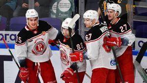 «Витязь» нанес домашнее поражение «Локомотиву», прервав серию из 7 поражений в КХЛ