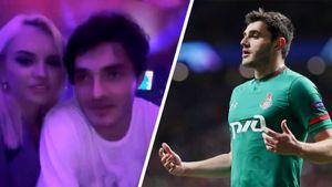 Защитника «Локомотива» Магкеева засняли пьяного с бывшей женой Кержакова. После этого клуб продлил с ним контракт