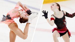 Как юная ученица Тутберидзе Акатьева прыгнула тройной аксель на Кубке России: фото