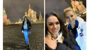«Как две сестрички». Фанаты Загитовой отметили схожесть фигуристки сеемамой: фото