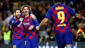 700-й матч Месси за«Барселону»: гол, желтая засимуляцию, голевые Суаресу идаже Гризманну!