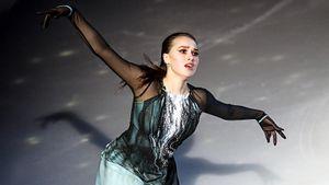Алина Загитова на шоу Этери Тутберидзе в Москве представила новую программу «Внутренний свет». Фото из «Мегаспорта»