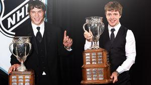Овечкин не оставил шансов Кросби, а Панарин обставил Макдэвида. Как русские выигрывали приз лучшему новичку НХЛ