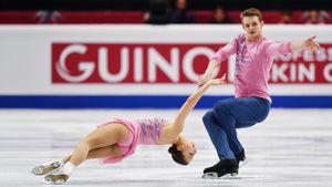 Русская пара— 2-я после короткой программы. Судьи решили, что китайцы должны быть первыми
