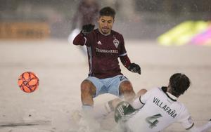 Шесть голов, удаление и -7°C: в MLS сыгран самый холодный матч в истории