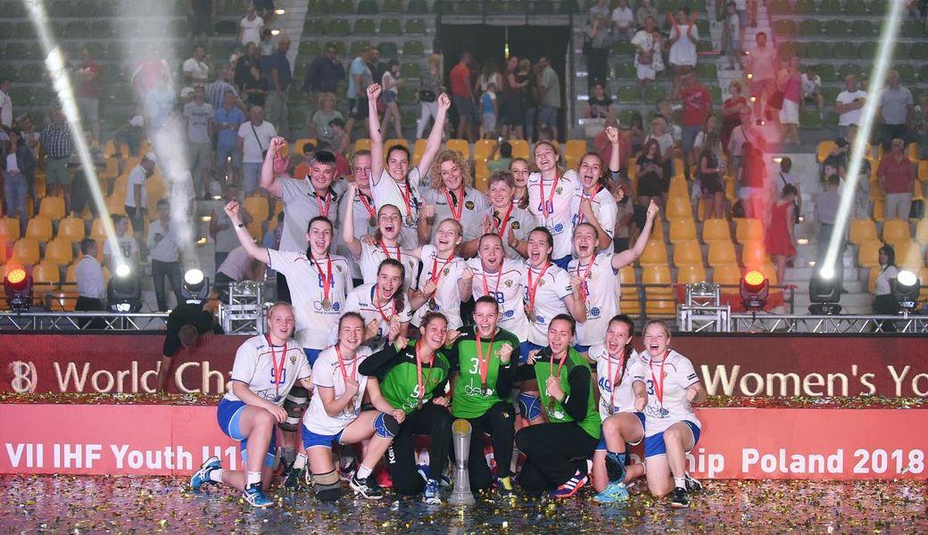 Тольяттинские гандболистки завоевали золото начемпионате мира вПольше