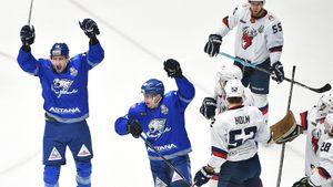 Самый безумный матч плей-офф КХЛ: 9 шайб, камбэк со счета 0:4 и канадец, сплавивший российский клуб