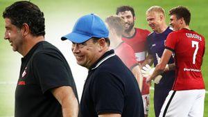 После разгрома Слуцкий улыбался, а спартаковцы смеялись вместе с вратарем «Рубина». Как это было: фото
