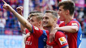 ЦСКА забил шесть, снова обойдя «Спартак» впоследнем туре. Ипопал прямо вгруппу Лиги Европы