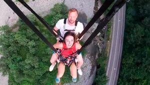Малафеев с женой испытали самые высокие качели в мире: «Избавляемся от страхов»