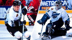 Звезды из бывшего СССР, стриптиз на арене, девушка-вратарь. Каким был хоккей в Лас-Вегасе в начале 90-х