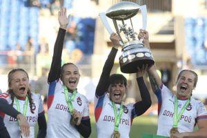 Женская команда ЦСКА стала обладателем Кубка европейских чемпионов по регби-7