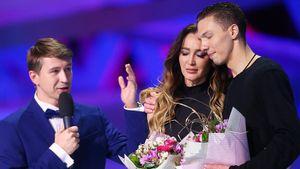 «Нет, не нужно, Ольга, Спасибо». Ягудин остановил Бузову, которая предложила спеть после проката на шоу Авербуха