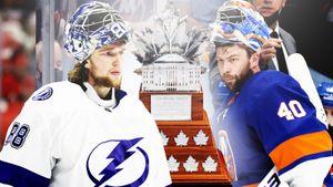 «Единорог» Василевский или системный Варламов? Впервые в истории MVP плей-офф НХЛ может стать русский вратарь