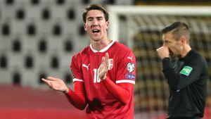 Сербия благодаря голу Влаховича обыграла Люксембург и вышла в лидеры отборочной группы ЧМ-2022