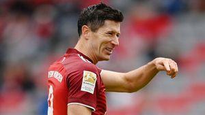 Левандовски не забил за «Баварию» впервые с 11февраля, остановившись в шаге от рекорда Герда Мюллера