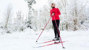 Учимся кататься на лыжах: советы и видео для новичков