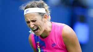Теннисистка Азаренко вернулась в теннис после судебных тяжб с отцом ее ребенка, вышла в финал US Open. Но проиграла