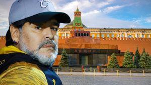 Марадону хотят положить в мавзолей, как Ленина. Он сам просил об этом