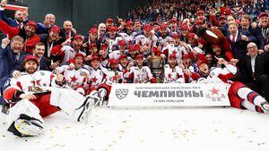 Такого в нашем хоккее не было 30 лет! ЦСКА — чемпион!