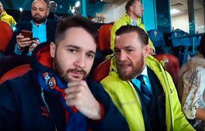 Макгрегор неотдал долг российскому видеоблогеру, которому проспорил вМоскве наматче ЦСКА: видео