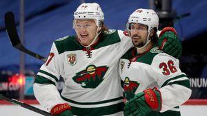 Как же хорош Капризов! Русский новичок НХЛ отдал два шикарных паса и мог забить 4 раза за одну смену: видео