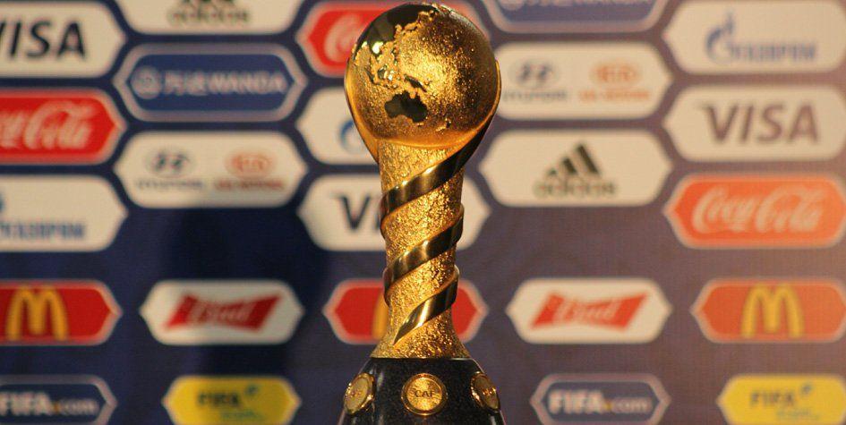 Кубок чемпионата мира пофутболу доставили в РФ