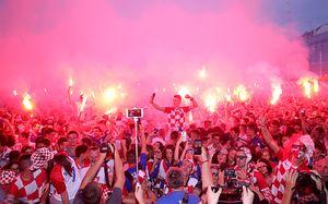 Как в Хорватии сходили с ума после выхода сборной в финал ЧМ