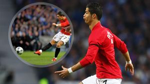 Красивейший гол Роналду за «Манчестер Юнайтед». 12 лет назад Криш выиграл премию Пушкаша: видео