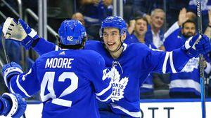 Русский попрозвищу Супмэн провел лучший матч за«Торонто»! Михеев разрывал суперзвезд НХЛ