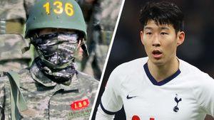 Футболист Сон Хын Мин теперь морской пехотинец: сотличием прошел курс подготовки вармии истал лучшим встрельбе