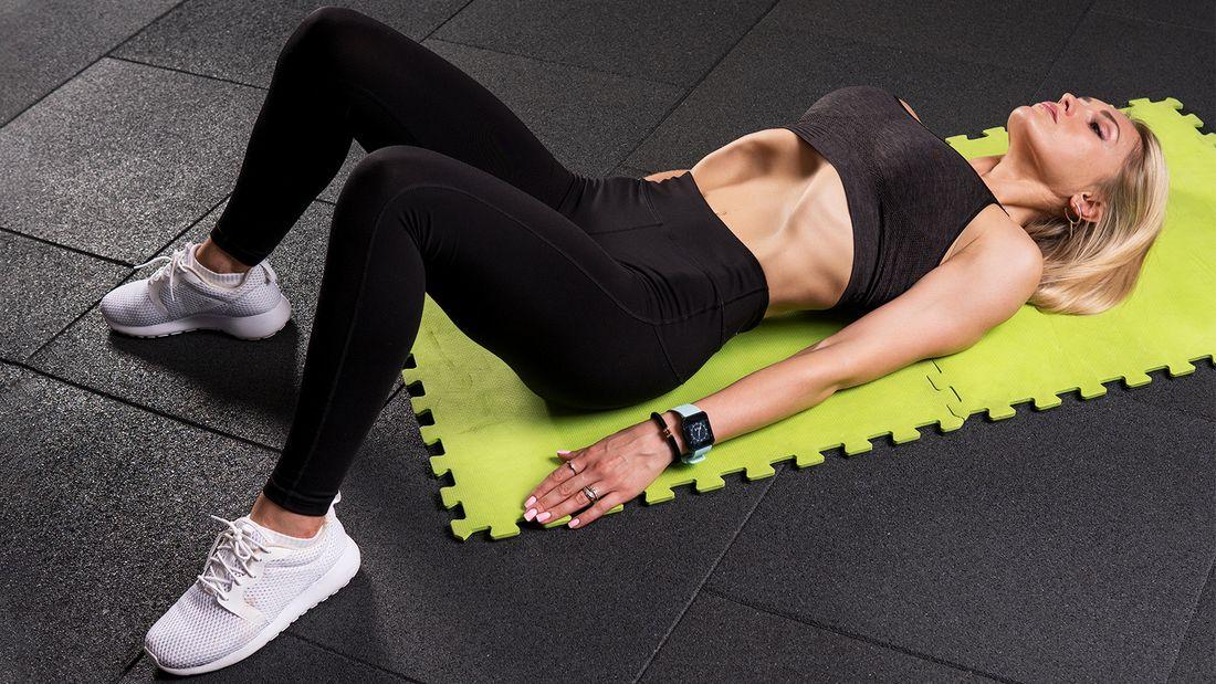 Упражнение для плоского живота Вакуум. Как выполнять правильно