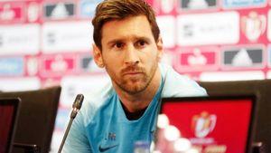 Месси дал первую пресс-конференцию за 4 года — о Кубке Испании, кошмаре на «Энфилде» и Гризманне