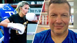 Боня предложила Соловьеву боксерский спарринг. Он высмеивал ее за слова о чипировании и коронавирусе