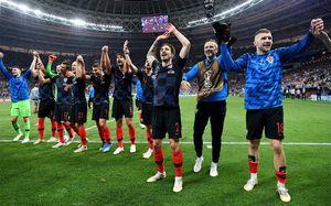 Хорваты — в финале чемпионата мира! Англия оказалась слабее России