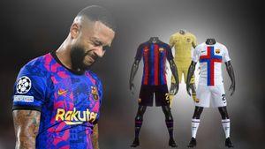 В сеть слили дизайн трех комплектов формы «Барселоны» на сезон-2022/23