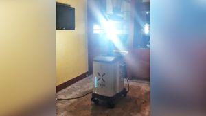 Робот за $125 тыс. поможет в борьбе с коронавирусом команде по американскому футболу «Каролина Пантерз»