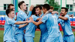 43:1! Футбольный матч третьего дивизиона России закончился с рекордным счетом