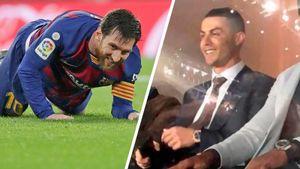 Роналду с трибуны улыбался поражению Месси. «Реал» — «Барселона»: главные фото класико