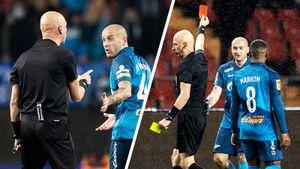 Разбор судейства 15-го тура РПЛ: пенальти в ворота «Зенита» назначили верно, Ракицкого надо было удалять еще раньше