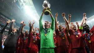 «Ливерпуль» снова совершил камбэк в Стамбуле. Суперкубок для Клоппа выиграл второй вратарь