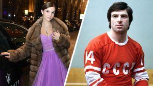 Как выглядит внучка советского хоккеиста Харламова. Она бросила спорт, учится на дизайнера, имеет испанский паспорт