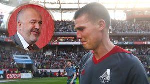 «Кикнадзе при всей команде сказал, что не доверяет мне как человеку». Денисов — об уходе из «Локомотива»