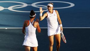 «С ума сойти! Чудеса в спорте». Как россиянки Веснина и Кудерметова проиграли бразильянкам бронзу Олимпиады: видео