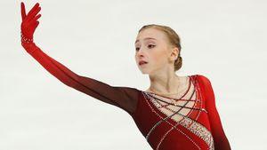 Софья Муравьева выиграла короткую программу на этапе юниорского Гран-при в Линце