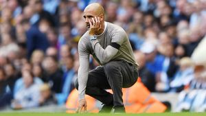 Манчестер вяме: Гвардиола отпустил «Ливерпуль» на8 очков, «МЮ» Сульшера идет кзоне вылета