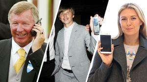 Как менялись телефоны спортсменов от 90-х к 2019-му: ностальгические фото